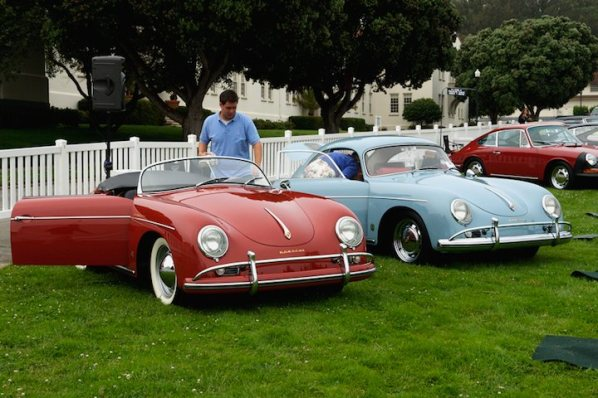 1958 Porsche Speedster and 356A