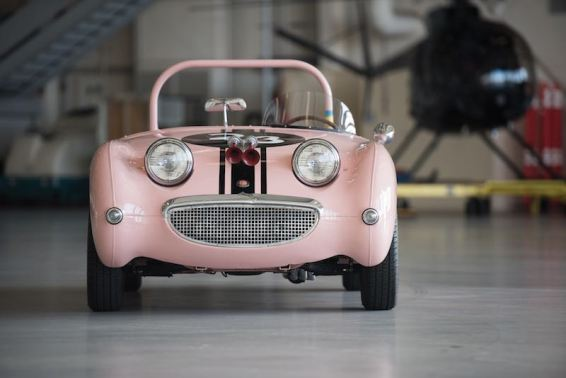 1959 Austin-Healey Sprite Mk I (photo: Darin Schnabel)