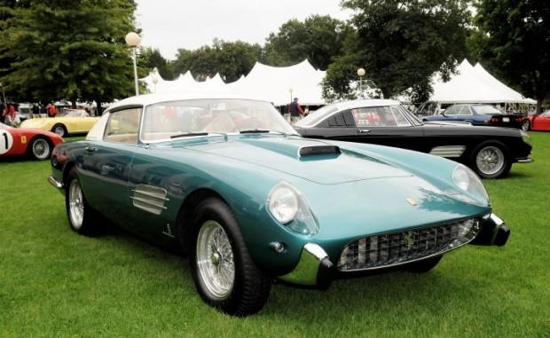 Best of Show Stradale Winner - 1957 Ferrari 4.9 Superfast of Lee Herrington