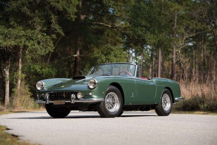 1960 Ferrari 400 Superamerica SWB Cabriolet by Pinin Farina (photo: Darin Schnabel)