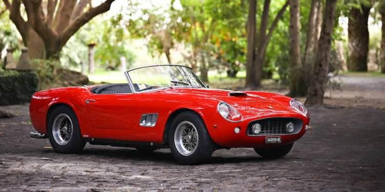 1961 Ferrari 250 GT SWB California Spider (photo: Mathieu Heurtault)