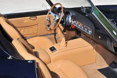 1961 Ferrari 250 GT SWB California Spider Interior (photo: Tim Scott)