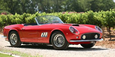 1961 Ferrari 250 GT SWB California Spider (photo: Mathieu Heurtault)