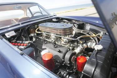 1961 Ferrari 400 Superamerica SWB Coupe Aerodinamico Engine