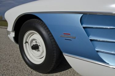 1961 Chevrolet Corvette Gulf Oil Race Car Side Detail