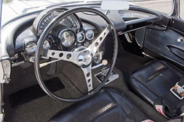 1961 Chevrolet Corvette Gulf Oil Race Car Interior