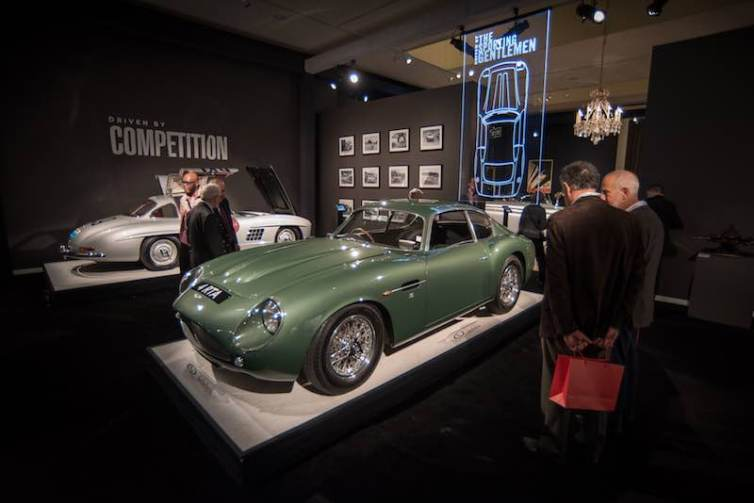 1962 Aston Martin DB4GT Zagato (Chassis DB4GT/0186/R) - $14,300,000