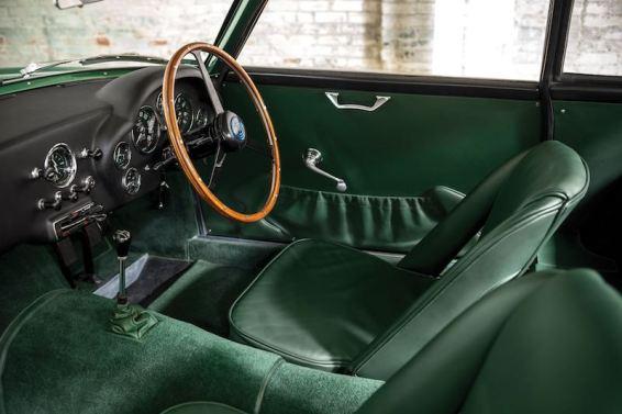 1962 Aston Martin DB4GT Zagato Interior (photo: Patrick Ernzen)