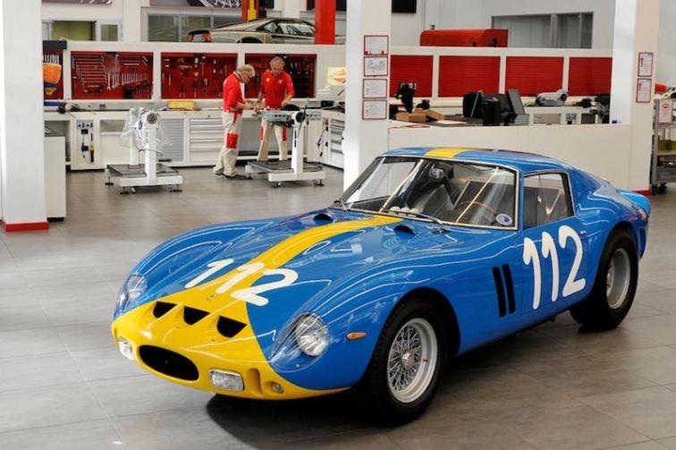 1962 Ferrari 250 GTO, chassis 3445 GT