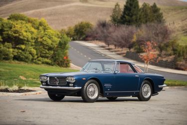 1962 Maserati 5000 GT Coupe by Allemano (photo: Darin Schnabel)