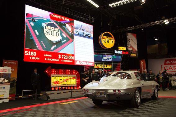 1963 Chevrolet Corvette Z06 Tanker (Lot S160) sold for $710,000