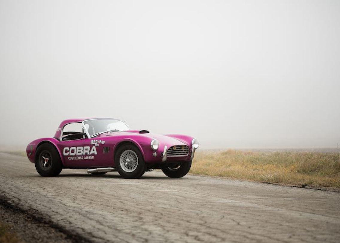 1963 Shelby 289 Cobra Dragonsnake (photo: Drew Shipley)