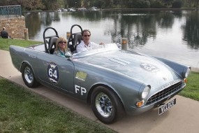 <strong>Vintage Race Cars - 1964 Sunbeam Alpine, Bill Atalla, Reno, NV</strong>