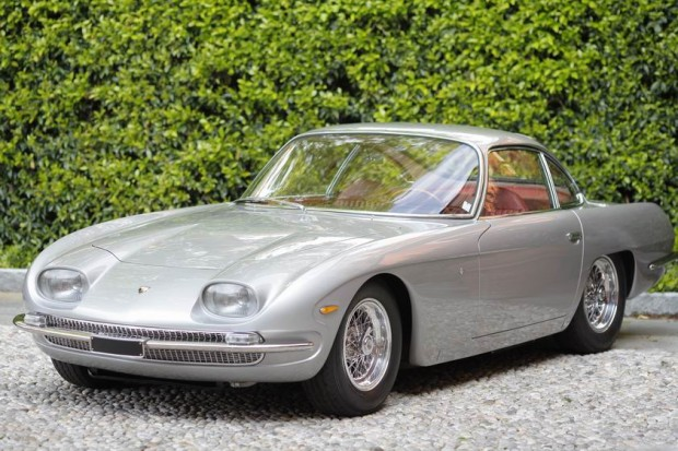 <strong>Class E - Modena's Thoroughbreds</strong>, 1964 Lamborghini 350 GT Coupe Touring, Paul Roesler, United States