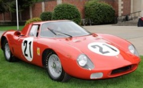 1965 Le Mans-winning Ferrari 250LM, the last Ferrari to win Le Mans, driven by Jochen Rindt and Masten Gregory