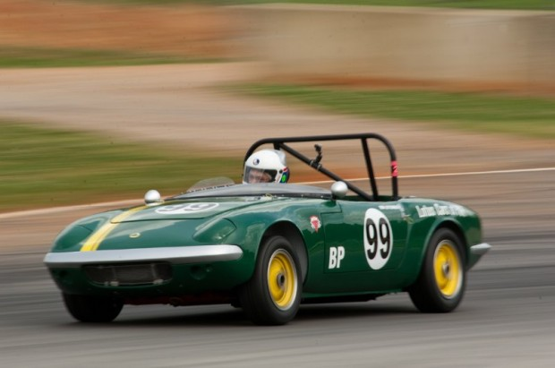 1965 Lotus Elan of Bob Leitzinger during Mitty Speedfest