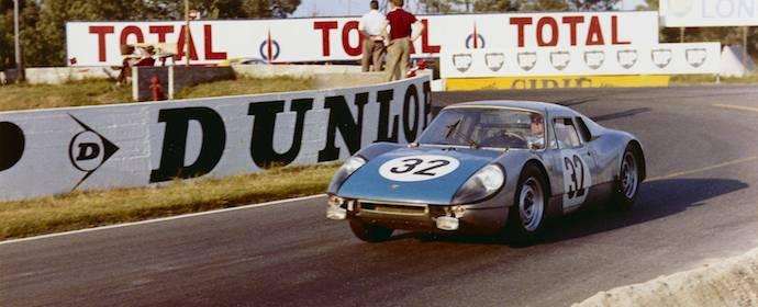 1965 Porsche 904 at Le Mans