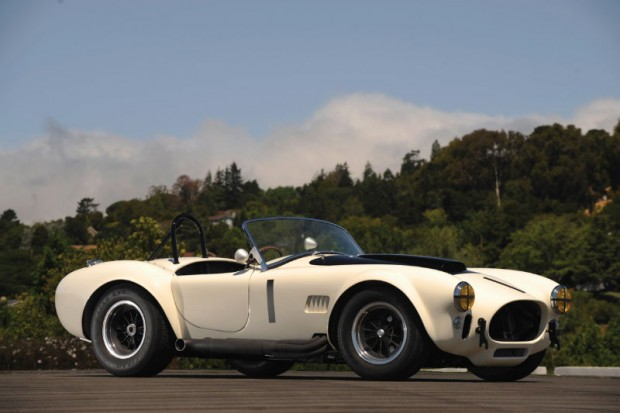 <strong>Lot 259 - 1965 Shelby 427 Competition Cobra - Estimate $1,000,000-$1,300,000.</strong> CSX3006 competed in several races during the 1966 season including at Goodwood, England and Zeltweig, Austria, and most significantly at Brands Hatch where it won the Ilford 500 with co-drivers Bob Bondurant and David Piper behind the wheel.