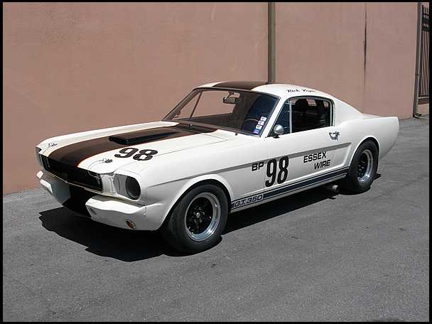<strong>1965 Shelby Mustang GT350 R</strong> – The Essex Wire Car