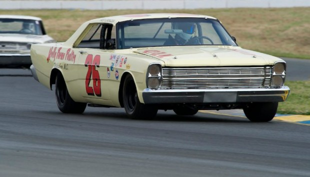 1966 Ford Galaxie driven by Vic Edelbrock