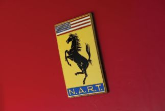 1967 Ferrari 275 GTB/4 N.A.R.T. Spider Badge