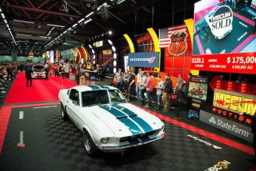 1967 Shelby GT500 Fastback (Lot S120.1) sold for $170,000