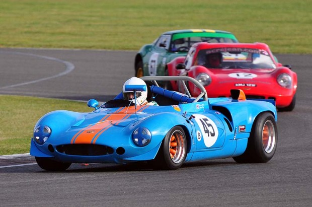 1968 Ginetta G16 of Graeme Dodd finished 3rd