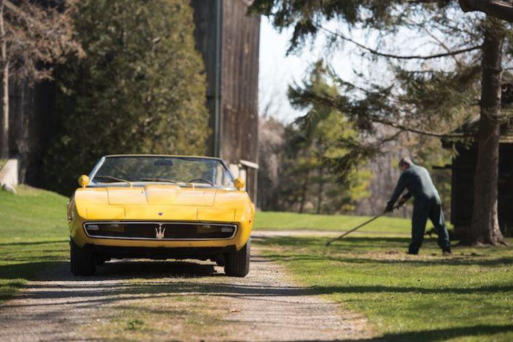 1968 Maserati Ghibli 4.7 Spider Prototype (photo: Darin Schnabel)