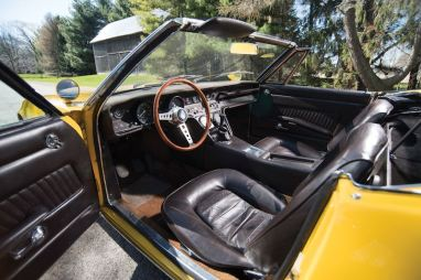 1968 Maserati Ghibli 4.7 Spider Prototype Interior (photo: Darin Schnabel)