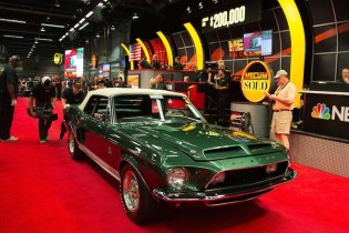1968 Shelby GT500KR Convertible sold for $190,000