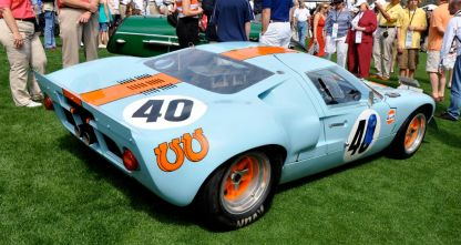 1968 Ford GT40 Mk II Chassis # 1074
