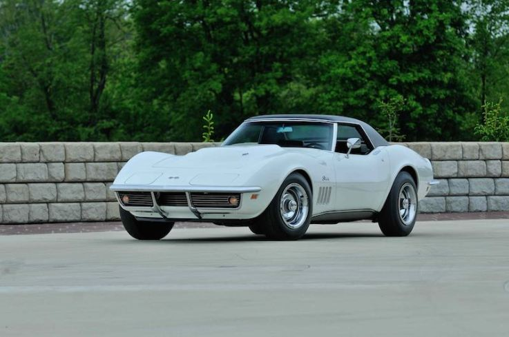 1969 Chevrolet Corvette L88 Convertible with 6,453 miles