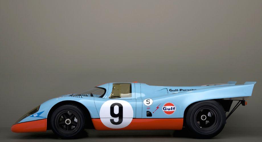 1969 Gulf Porsche 917 Photos History Profile