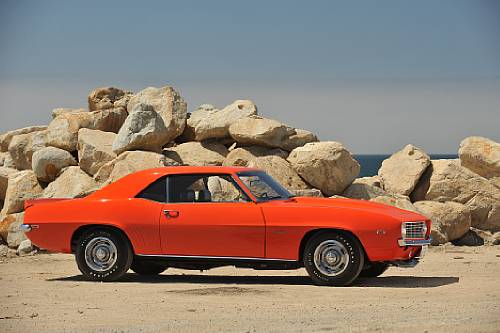 <strong>1969 Chevrolet Camaro COPO ZL-1 – Estimate $675,000 - $725,000.</strong> From Reggie Jackson Collection.