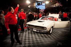 1970 Plymouth Hemi Cuda Convertible on auction block