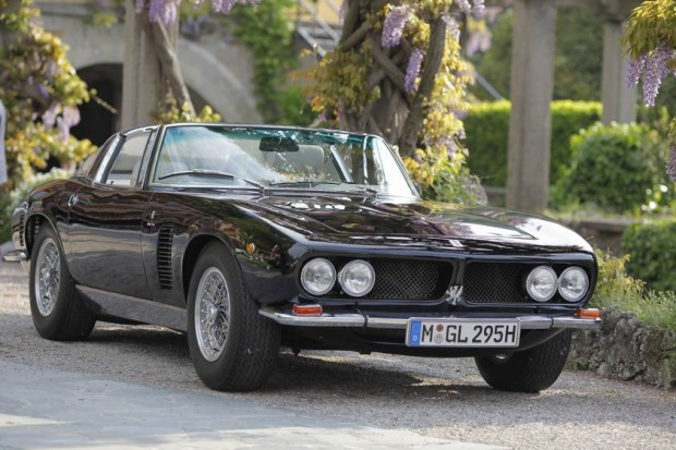 <strong>Class H - Italian Style Becomes International</strong>, 1970 Iso Grifo Targa Bertone, Alexander Wiesner, Germany
