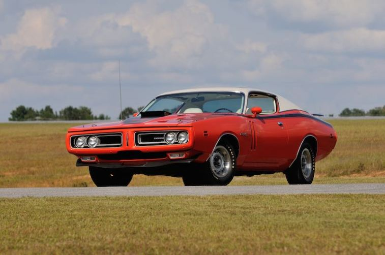 1971 Dodge Hemi Charger R/T Sunroof