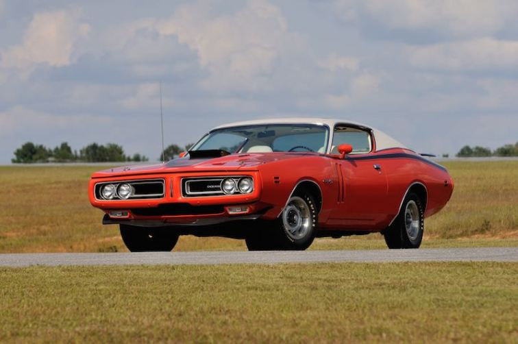 1971 Dodge Hemi Charger RT Sunroof