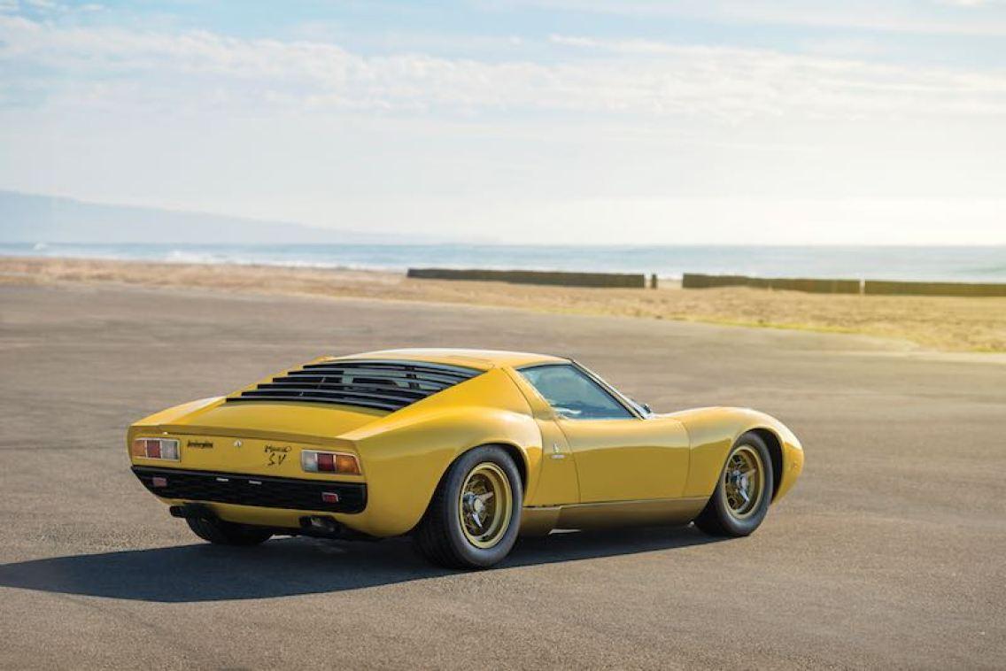 1971 Lamborghini Miura P400 SV (photo: Robin Adams)