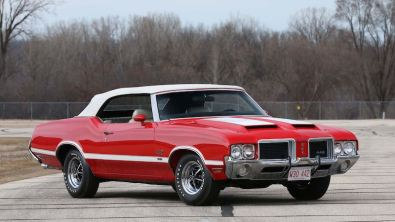 1971 Oldsmobile 442 W-30 Convertible (Lot S105)