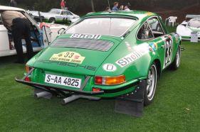 Rear picture of the 1971 Porsche 911 STR