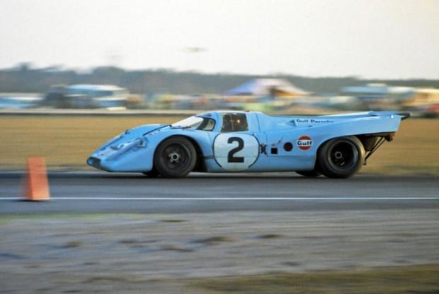 1970 Daytona 24 Hours Winner, Gulf Porsche 917K