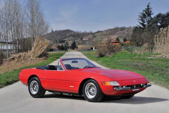 1972 Ferrari 365 GTS/4 Daytona Spider (photo: Tim Scott)