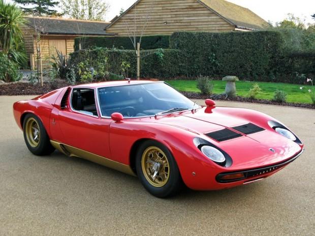 1972 Lamborghini Miura SV picture