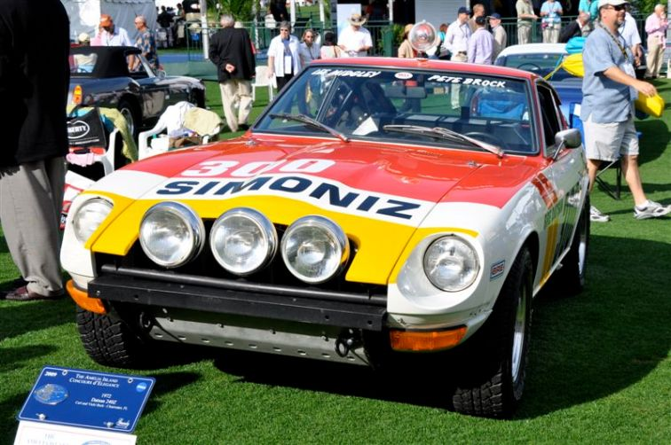 1972 BRE Datsun 240Z as raced in that year's Baja 500