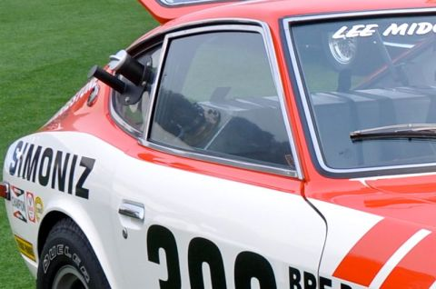 Side details on the 1972 BRE Datsun 240Z