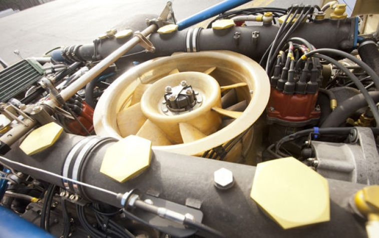 1973 Porsche 917 Can-Am Spyder Engine