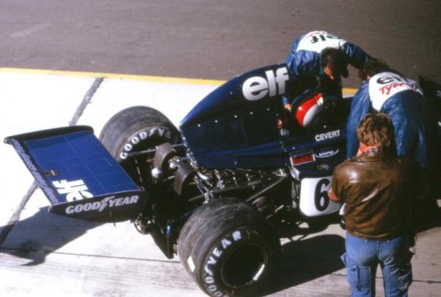 Francois Cevert - Tyrrell 006