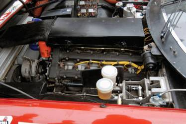 Ferrari 365 GTB/4 Daytona Competizione Engine