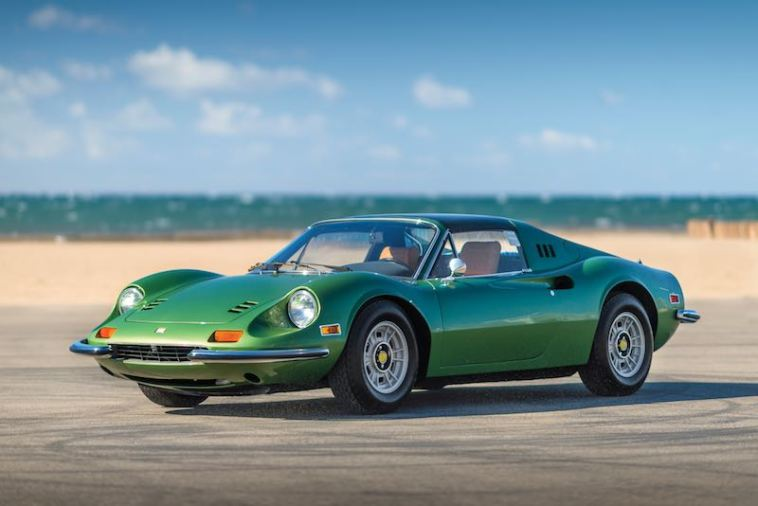 1974 Ferrari Dino 246 GTS (photo: Robin Adams)